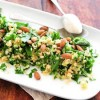 Salade met amandelen