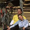 Vermoeide fietsers